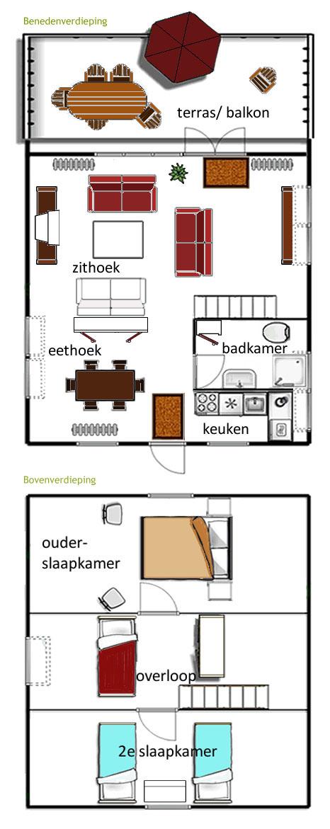 plattegrond-huisje